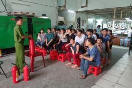 Tập huấn  PCCC - Năm 2015